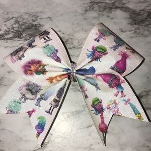 Other - Trolls Cheer Bow